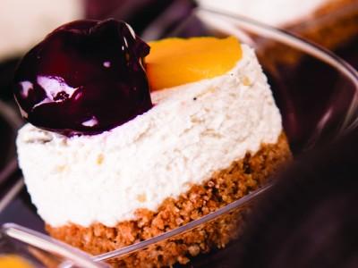 Cheesecake de piersici